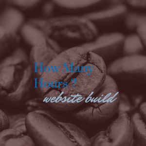 How many hours does it take to build a website?