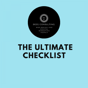 the checklist before launching your website